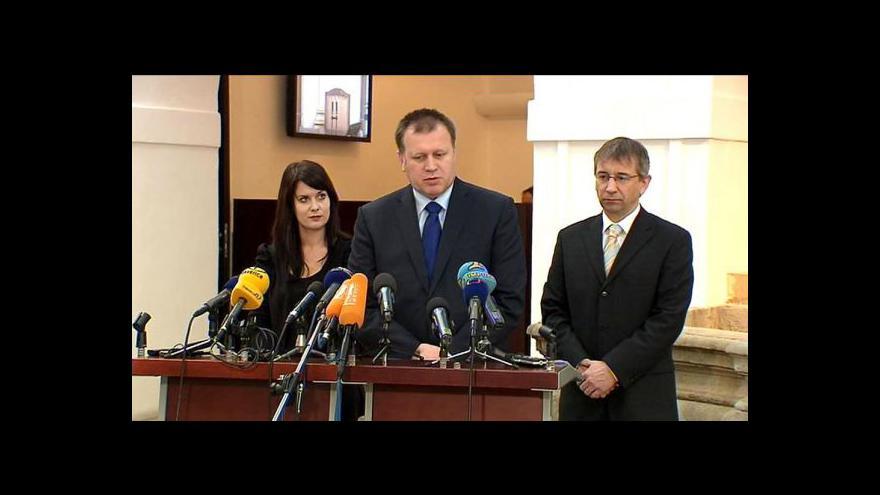 Video Studio ČT24 ke kauze náměstka Šišky
