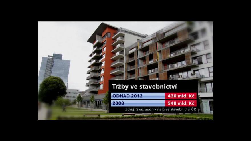 Video Stav českého stavebnictví