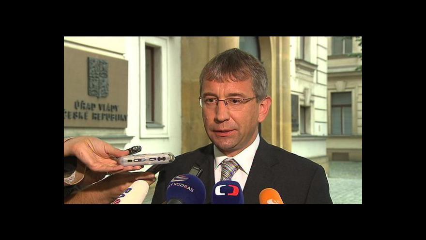 Video Brífink Jaromíra Drábka k zatčení náměstka Šišky