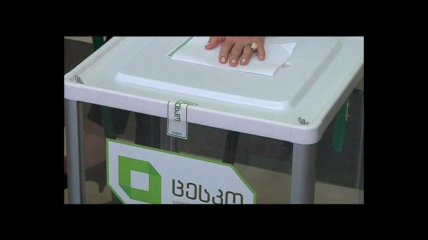 Video Události: V Gruzii se zavřely volební místnosti