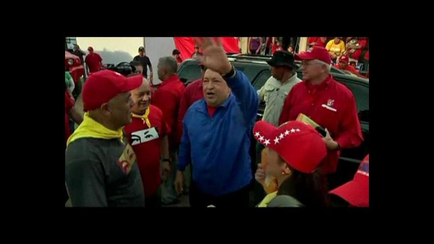 Video Chávez je přesvědčen, že vyhraje