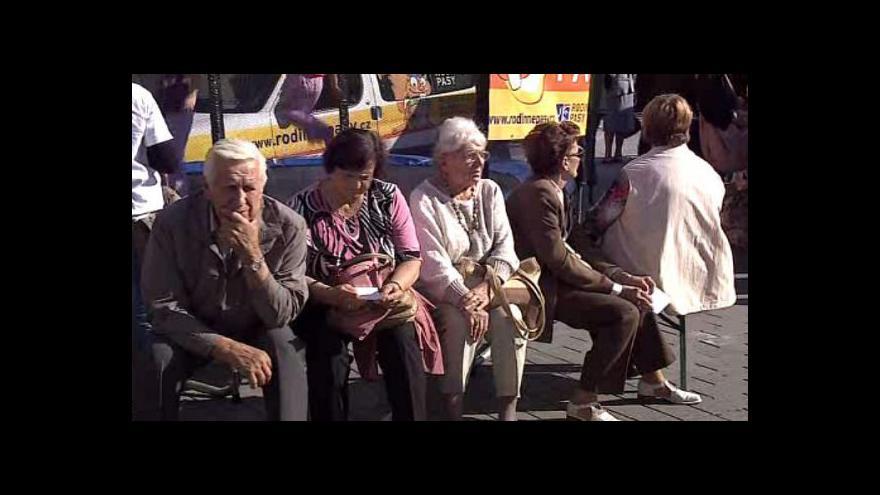 Video Oslavy Svátku seniorů v Brně 2012
