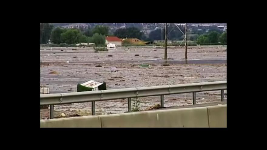 Video Ničivé záplavy na jihu Španělska