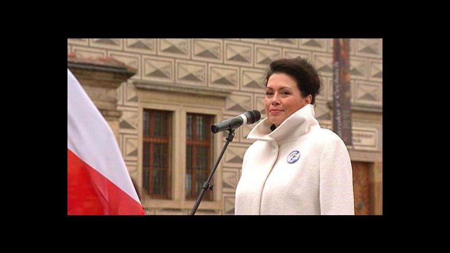 Video Jana Bobošíková získala 50 tisíc podpisů