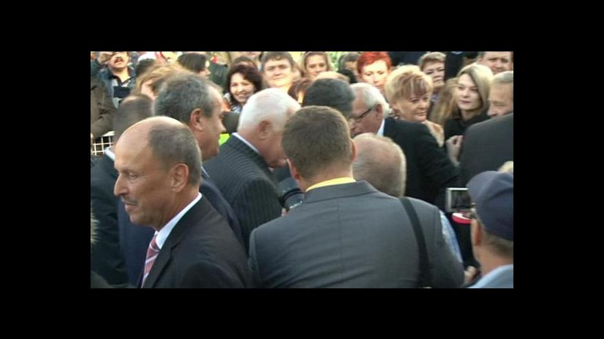 Video Okamžik incidentu v Chrastavě