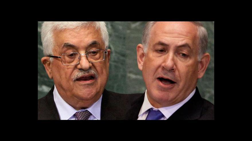 Video Abbás a Netanjahu promluvili na VS OSN
