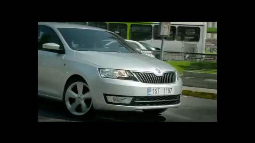 Video Škoda Rapid oficiálně představena v Paříži