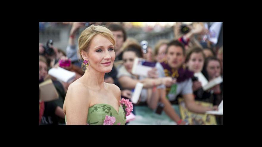 Video Ivan Kytka informuje z Londýna o nové knize J. K. Rowlingové