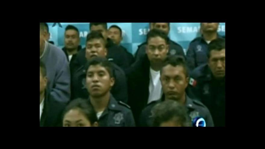 Video V Mexiku zadrželi jednoho z vůdců Zetas