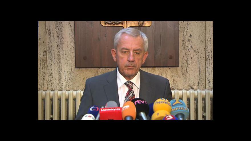 Video Prohlášení ministra Leoše Hegera o zmírnění prohibice