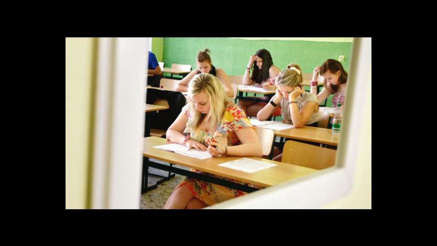 Video Studio ČT24 ke státní maturitě