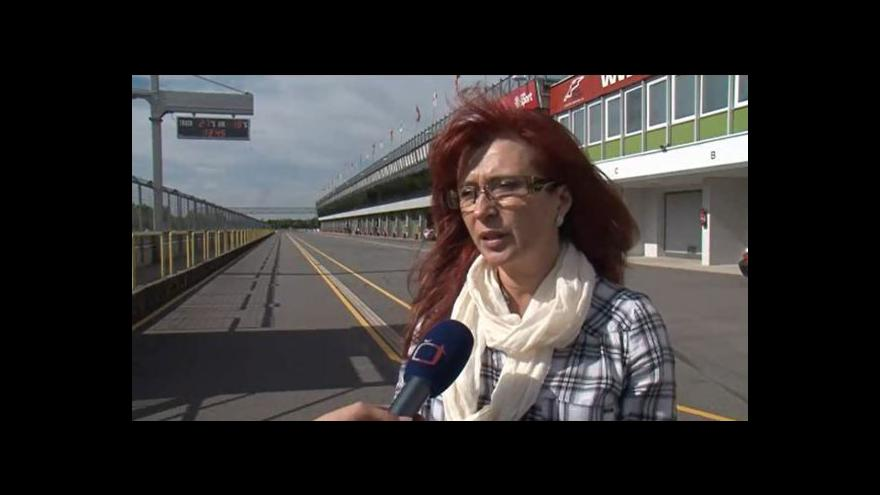Video Hovoří ředitelka brněnského Automotodromu Ivana Ulmanová