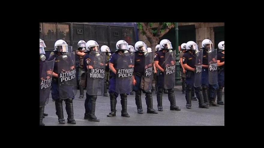 Video Řeckem zmítá generální stávka