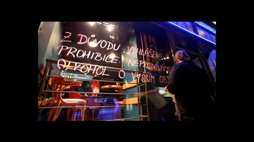 Video Zmírnění prohibice asi až zítra