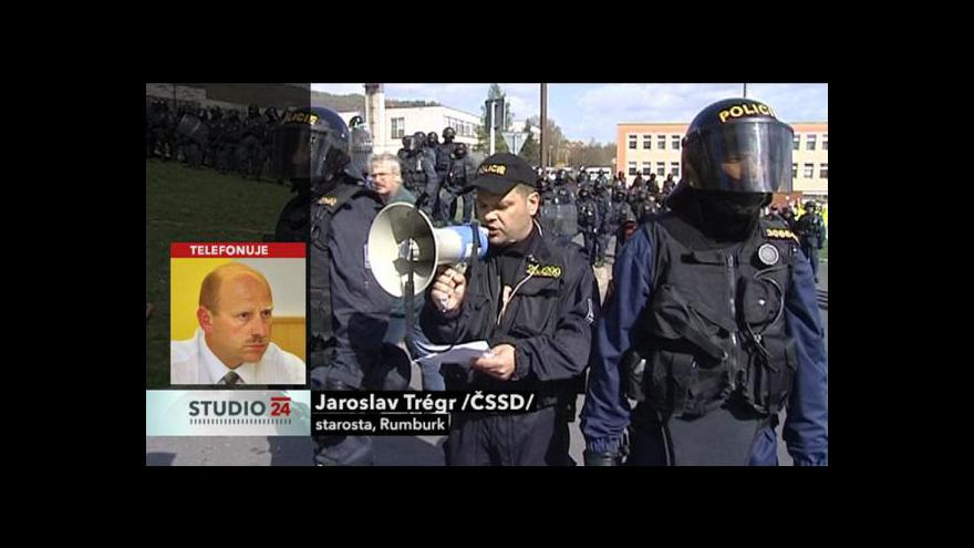 Video Rozhovor se starostou Rumburku Jaroslavem Trégrem