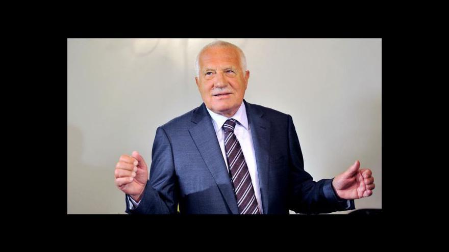 Video Prezidentské veto tématem Událostí, komentářů