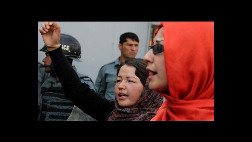 Video Afghánské ženy protestovaly kvůli popravě dívky