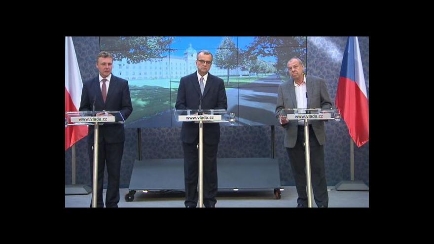 Video Brífink po jednání tripartity o rozpočtu na příští rok