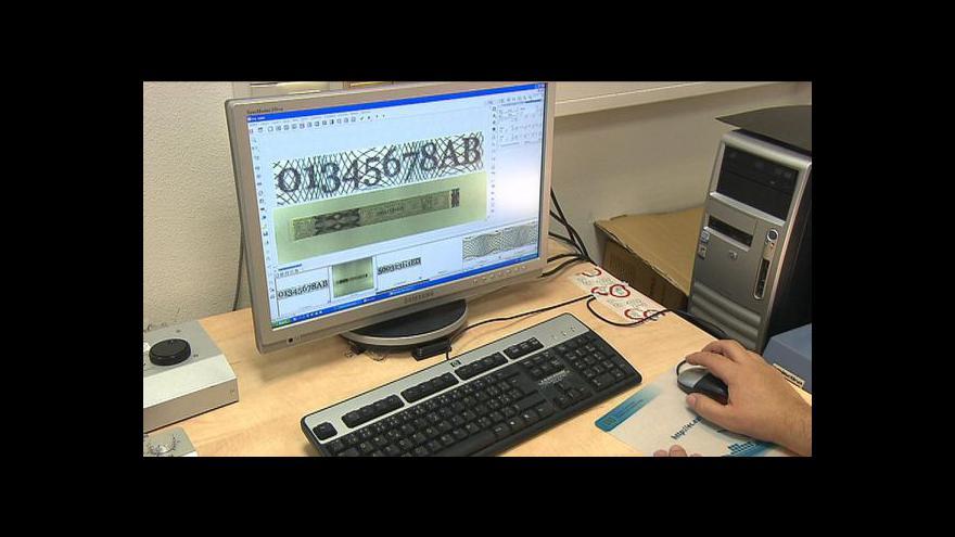 Video Státní tiskárna rozběhla výrobu nových kolků