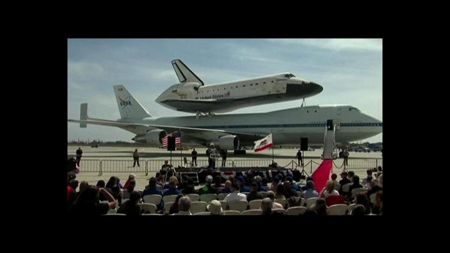 Video Welcome Home, Endeavour!