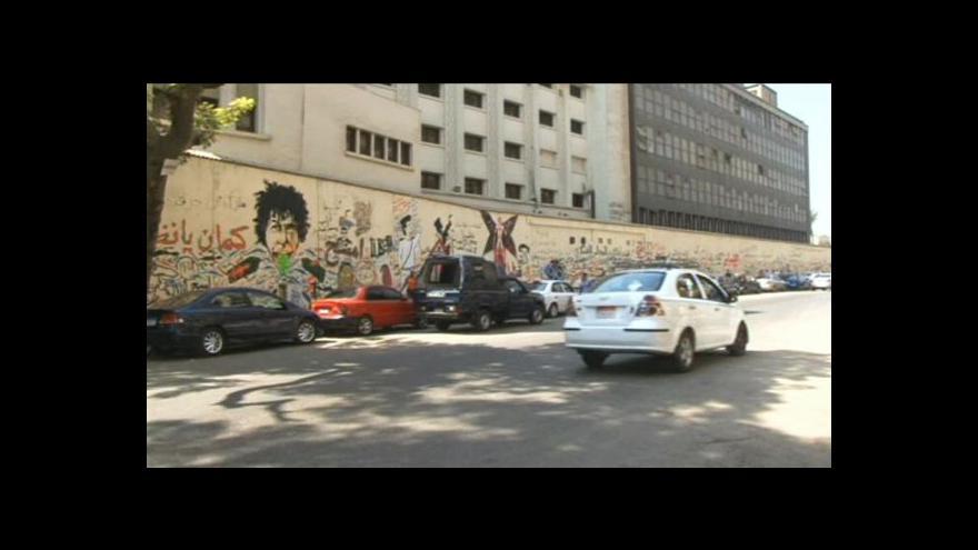Video Graffiti na Tahríru patří k symbolům revoluce