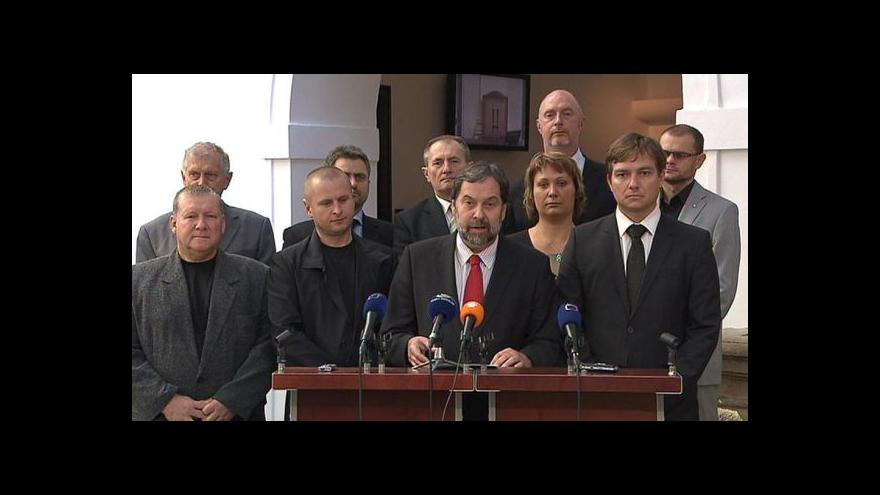 Video VV po jednání poslaneckého klubu strany