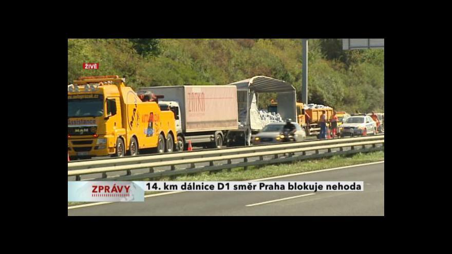 Video Vstup z dálnice D1