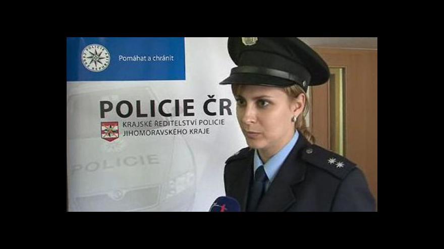 Video Mluví mluvčí policie Petra Vedrová