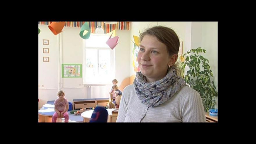 Video Hovoří učitelka Jana Nováková