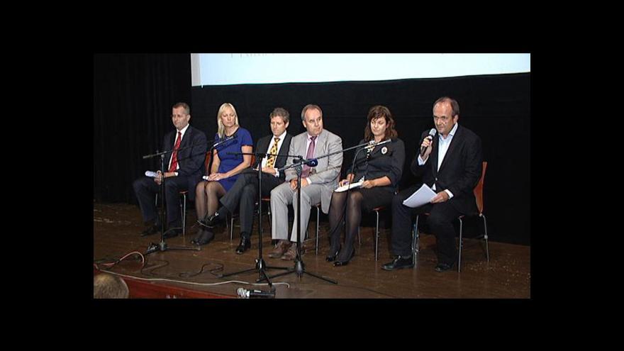 Video Brífink k přímé volbě poslanců