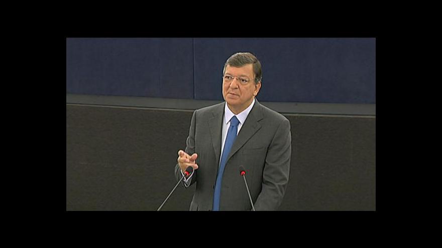 Video Barroso představuje návrh bankovní unie