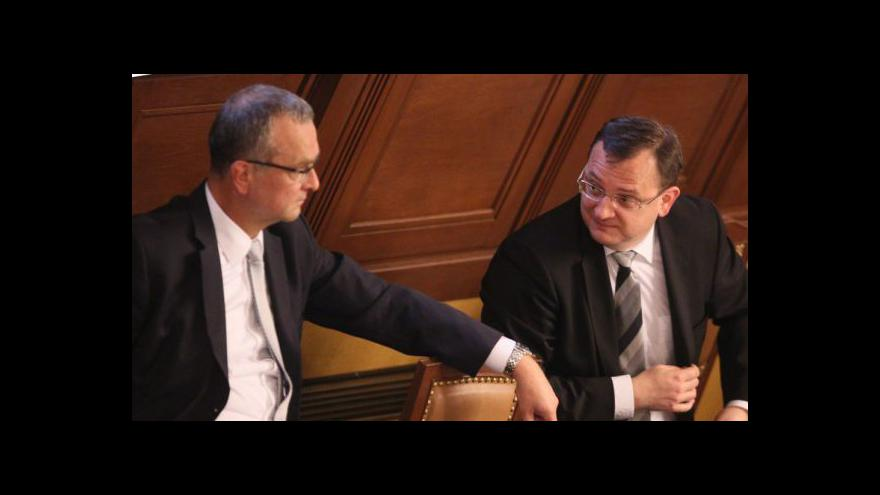 Video Vláda rozjíždí debatu o rozpočtu
