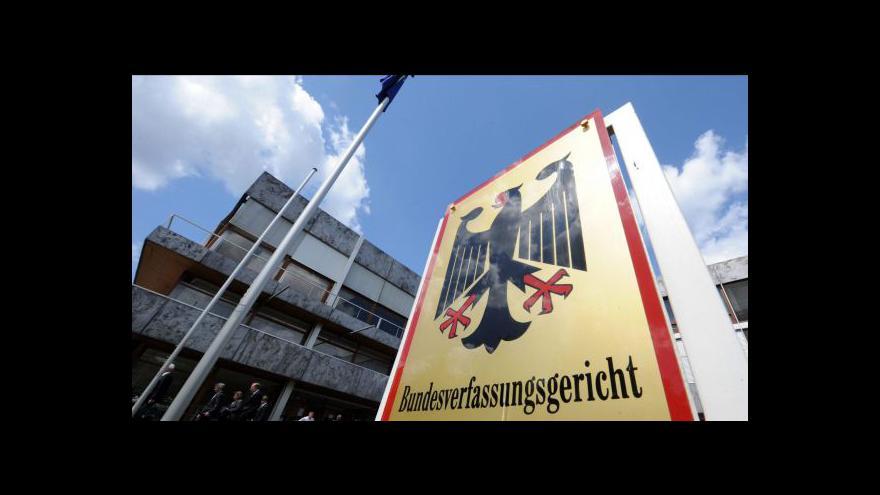 Video Německý ústavní soud o eurovalu a fiskálním paktu
