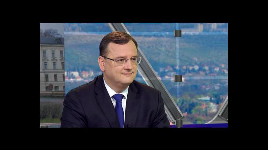 Video Vystoupení Jaroslava Hanáka - 2. část, vystoupení Petra Nečase