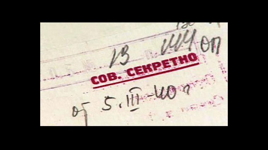 Video Američané věděli o Katyni