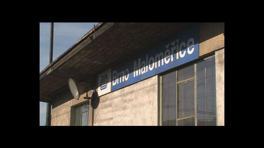 Video No comment: Vykolejený vlak v Brně Maloměřicích