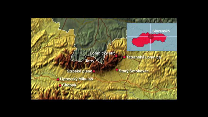 Video Do lyžařských areálů na Slovensku se vráží miliardy