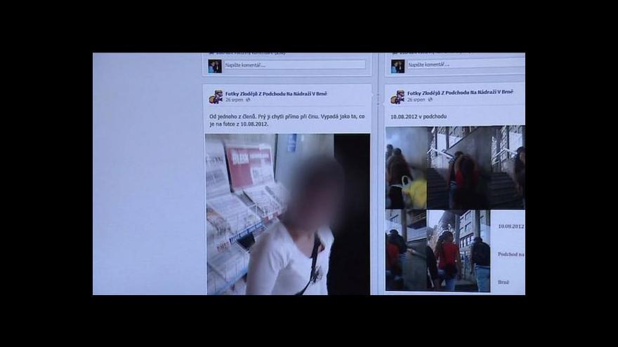 Video Záběry zlodějů na internetu tématem Událostí