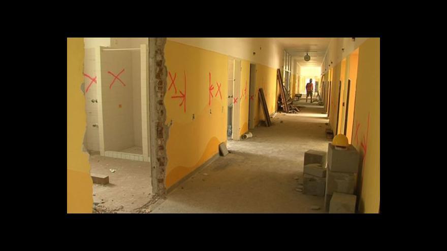 Video NO COMMENT: V kyjovské nemocnici začala rekonstrukce interny