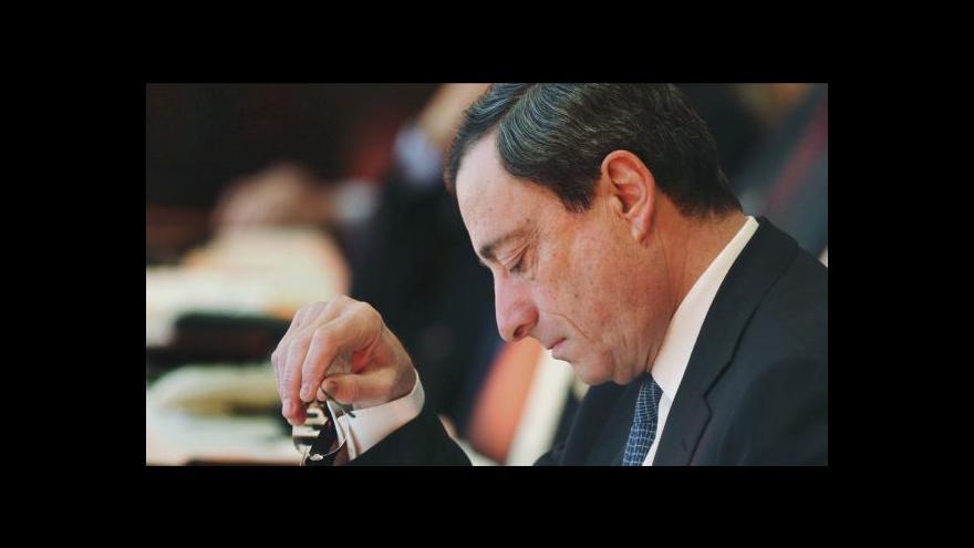 Video S čím dnes přijde Draghi?