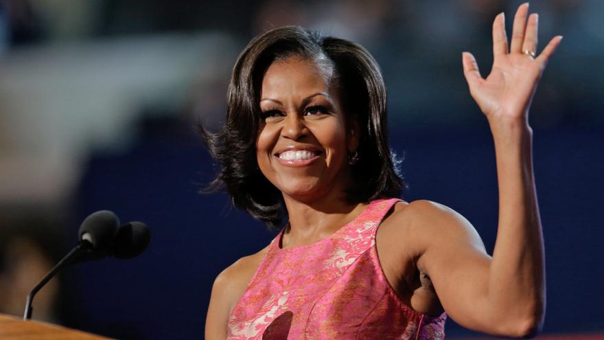 Video ŽIVĚ: Poslední projev Michelle Obamové