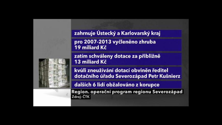 Video Události v regionech o zatýkání v ROPu
