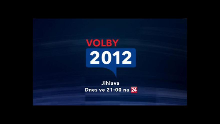Video Upoutávka na volební vysílání z Jihlavy