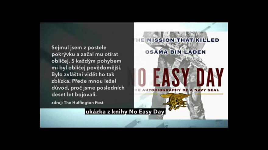 Video Vyjde kniha člena amerického komanda
