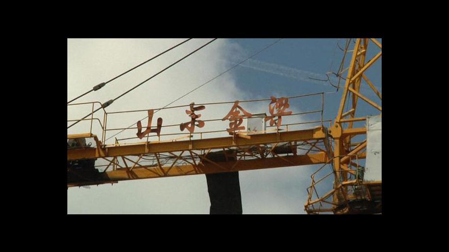Video Těžba uhlí v Mongolsku