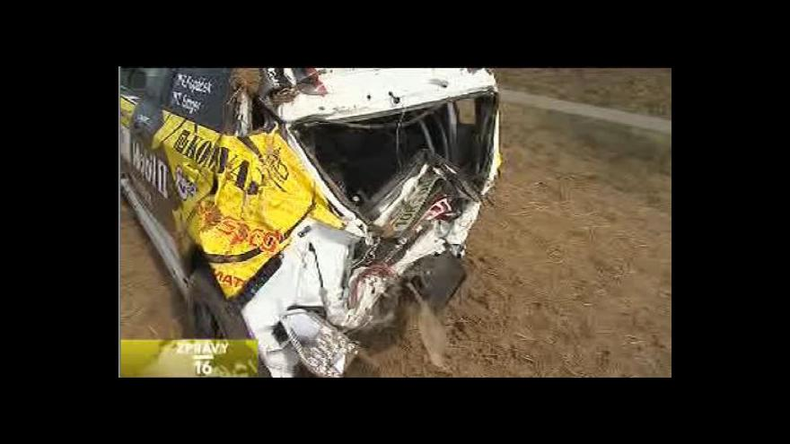 Video Smrtelná nehoda na Barum rallye