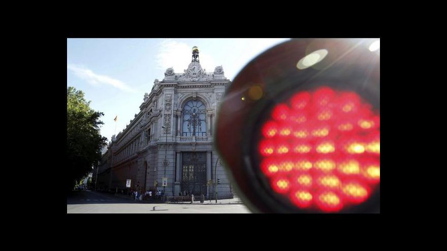 Video Španělská ekonomika se hroutí