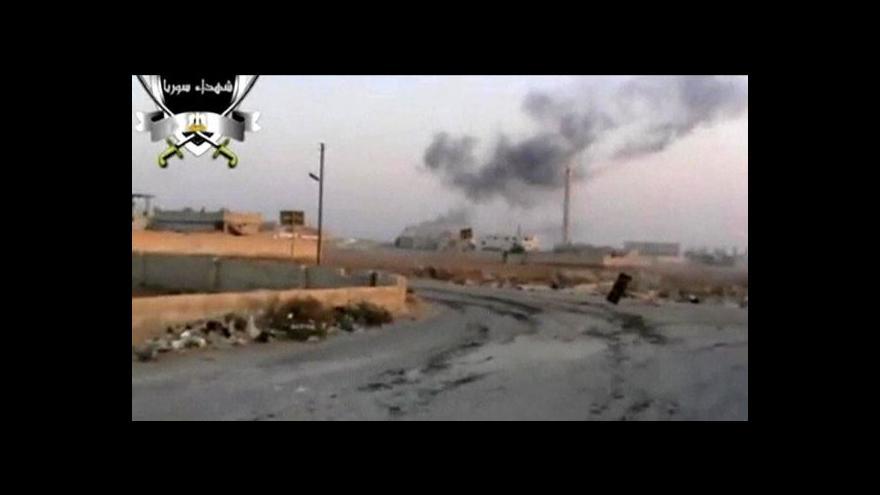 Video Sestřelení syrské stíhačky