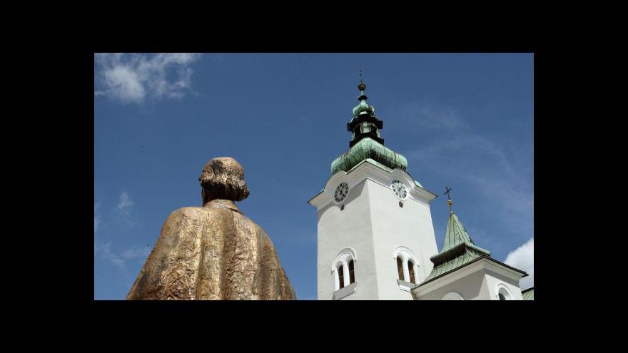 Video Události o církevních restitucích
