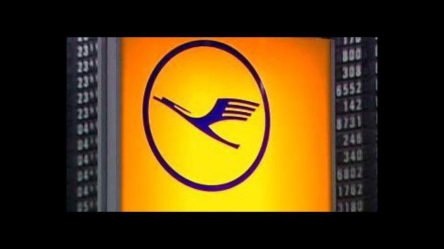 Video Palubní personál Lufthansy jde do stávky